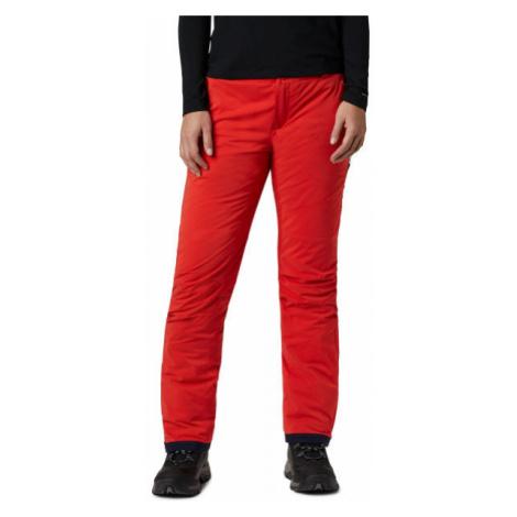 Columbia BACKSLOPE INSULATED PANT oranžová - Dámské zateplené kalhoty