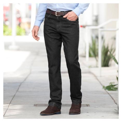 Blancheporte Džíny s elastickým pasem černá