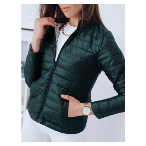 CHLLOE women's quilted jacket green Dstreet TY1855