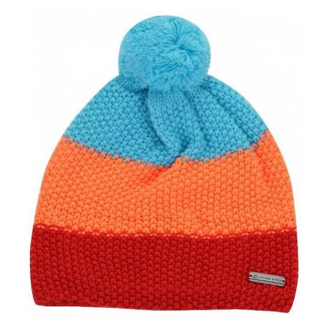 Dětská zimní čepice Alpine Pro TANAKIL 2 - oranžová