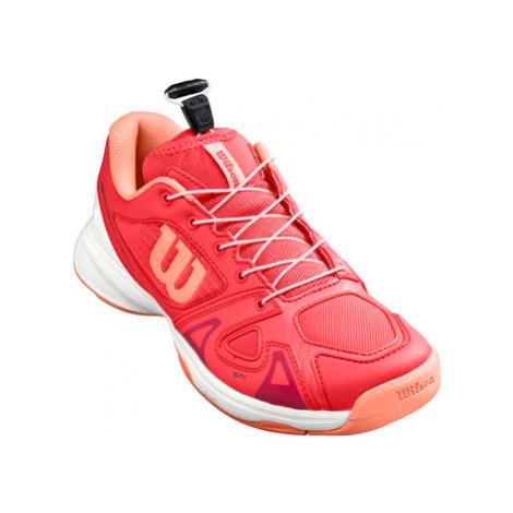 Juniorská tenisová obuv Wilson Rush Pro QL Cayenne, UK 13,5