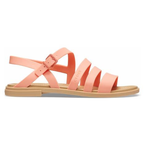 Crocs Crocs Tulum Sandal W Grapefruit/Tan W9