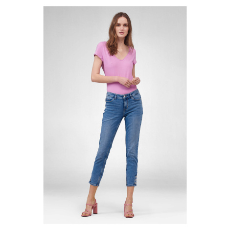 Skinny mid waist džíny Orsay