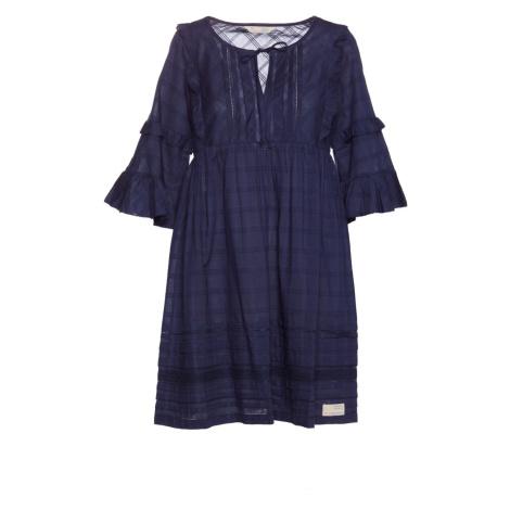 Šaty Odd Molly Delicately Strong Dress - Modrá