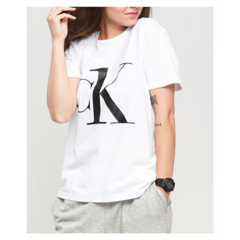 Calvin Klein Calvin Klein dámské bílé tričko S/S CREW NECK
