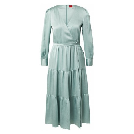 HUGO Košilové šaty 'Kimusa-1' azurová modrá Hugo Boss