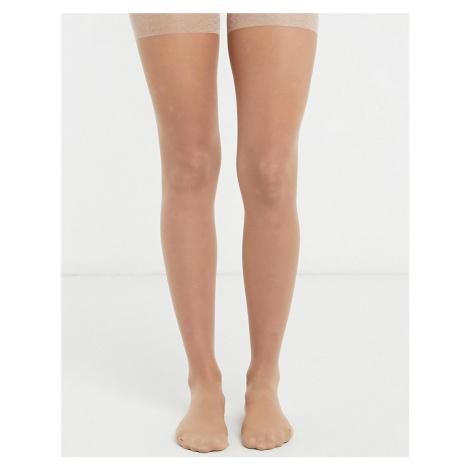 Lindex 40 dernier firm shaping tights in light beige-Neutral