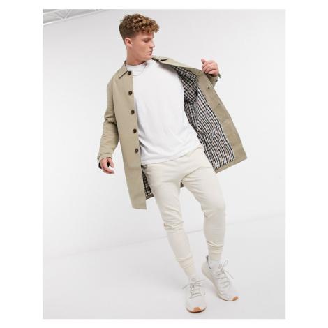 Burton Menswear mac in tan