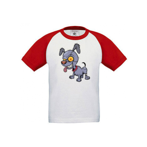 Dětské tričko baseball Zombie pes