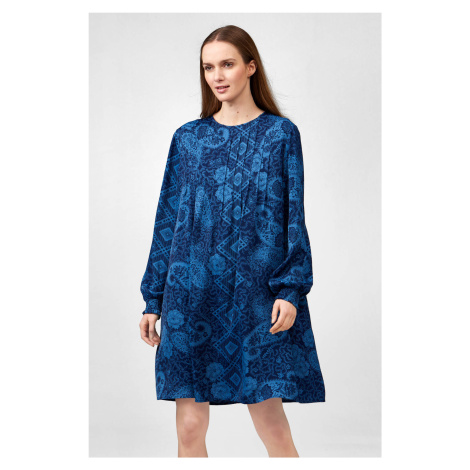 Volné vzorované šaty Orsay