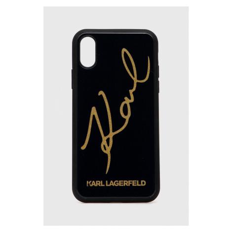 Karl Lagerfeld - Obal na telefon iPhone X/Xs