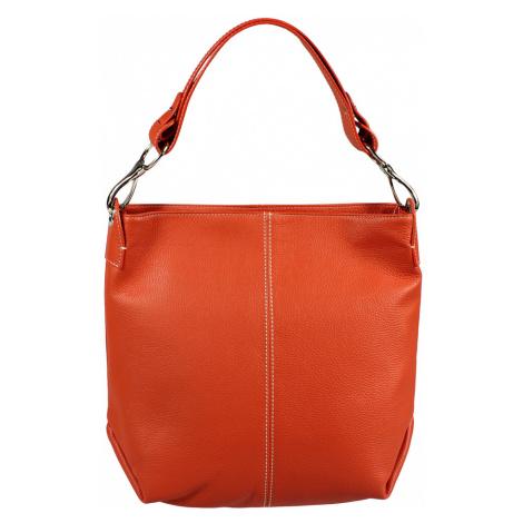 Prostorné kabelky Chola Arancione Filati Bianca