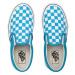 Vans Uy Classic Slip-On (Checkerboard) Kids modré VN0A4BUTW3V