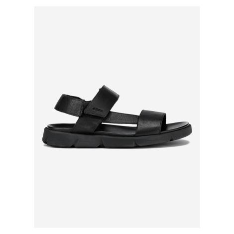 U Xand 2S Sandále Geox Černá
