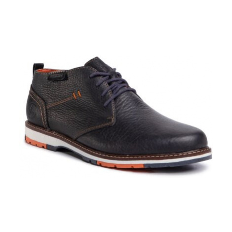 Kotníkové boty Rieker 10531-00 Přírodní kůže (useň) - Lícová