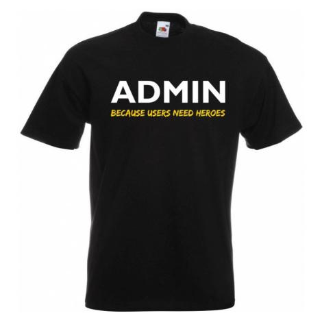 Linux tričko - Admin