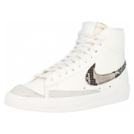 Nike Sportswear Kotníkové tenisky 'Blazer Mid 77 SE' béžová / pudrová / černá / šedá