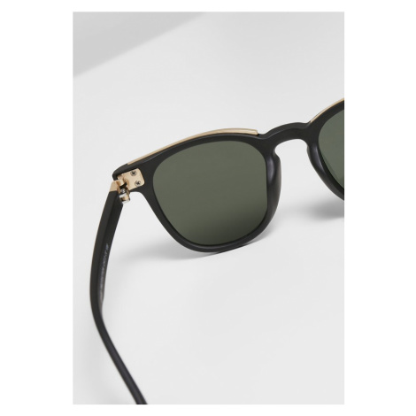 111 Sunglasses UC - black/gold Urban Classics
