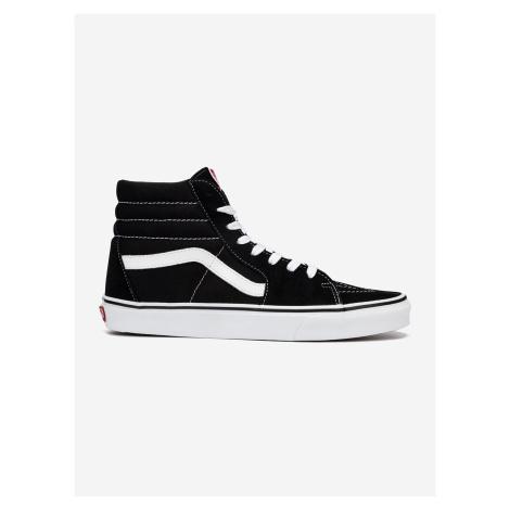 Boty Vans Ua Sk8-Hi Black/Black/White Černá