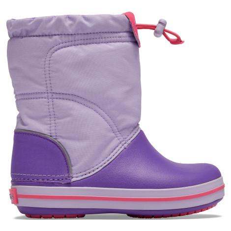 Crocs Crocband LodgePoint Boot K Lavender/Neon Purple