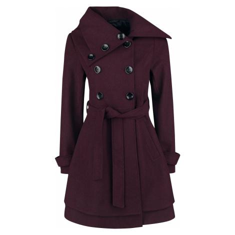 Black Premium by EMP Good Times Dívcí kabát tmavě červená
