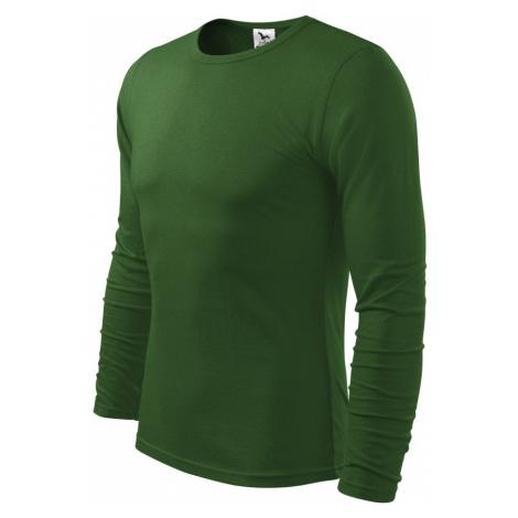 Malfini FIT-T Long Sleeve Pánské triko 11906 lahvově zelená