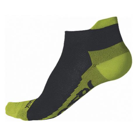 RACE COOLMAX INVISIBLE Sportovní ponožky 1041007 černá/limetka Sensor