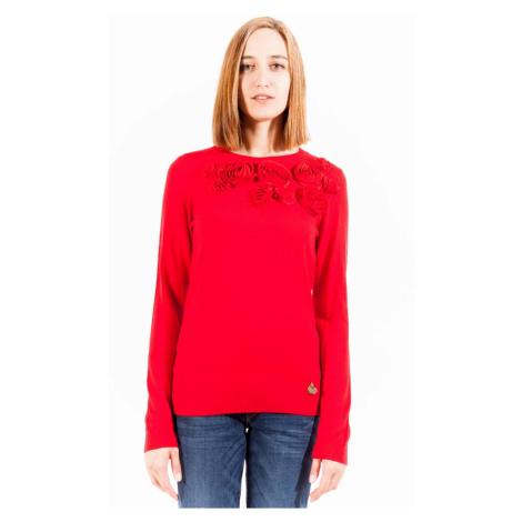 LOVE MOSCHINO svetr Barva: Červená