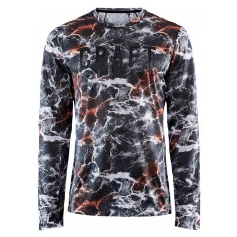 Pánské tričko CRAFT Vent Mesh LS černá/červená