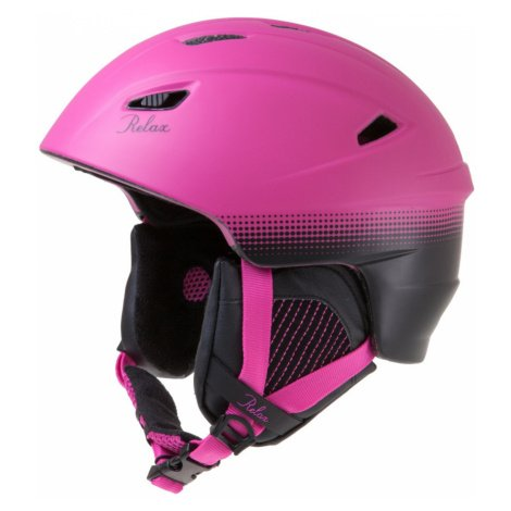 RELAX WILD Lyžařská helma růžová