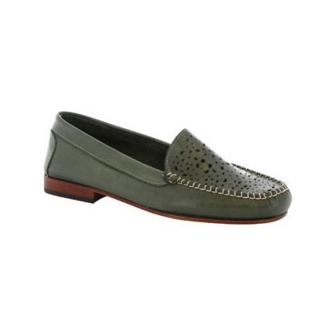 Leonardo Shoes 5026 VITELLO VERDE Zelená