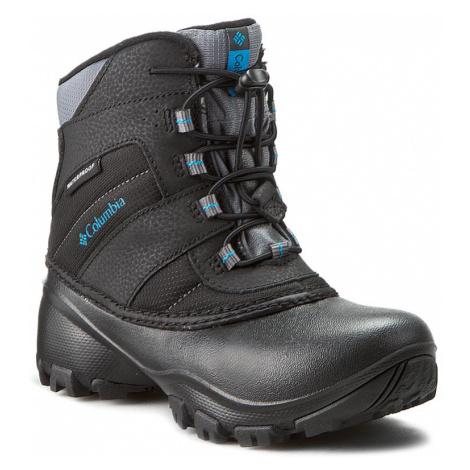 Sněhule COLUMBIA - Youth Rope Tow III Waterproof BY1322 Black/Dark Compass 010
