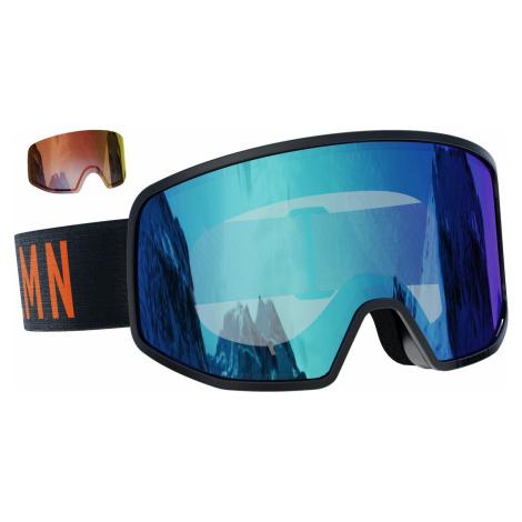 Lyžařské brýle Salomon Lo Fi (2 skla) Barva obrouček: černá