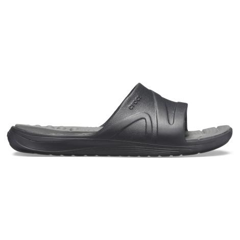 Crocs Reviva Slide Black/Slate Grey