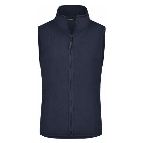 James & Nicholson Dámská fleecová vesta JN048