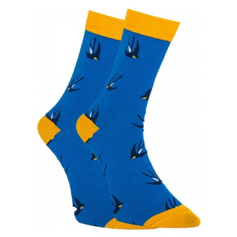 Veselé ponožky Dots Socks vlaštovky (DTS-SX-448-N) S
