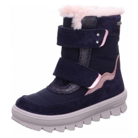 dívčí zimní boty FLAVIA GTX, Superfit, 1-009214-8010, tmavě modrá