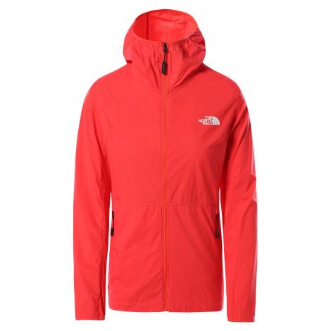 Dámská bunda The North Face Circadian Wind Jacket Horizon Red/TNF Black