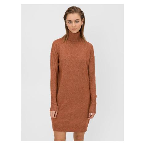 Brilliant Šaty Vero Moda Oranžová
