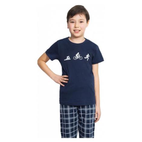 Dětské pyžamo kapri Vienetta Secret Triatlon | světle šedá