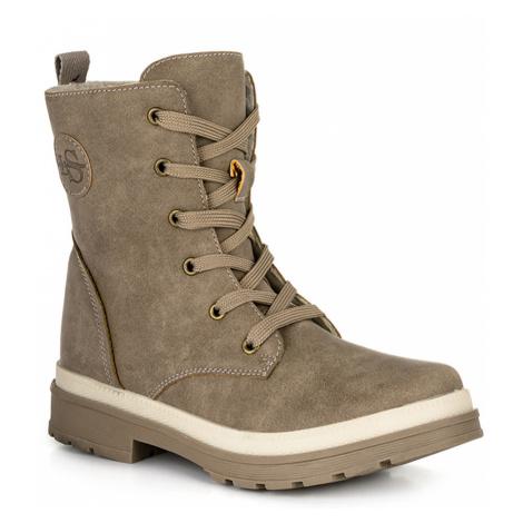 LOAP SANGRI Dámské zimní boty CSL2022R30R Timber Wolf / Brown