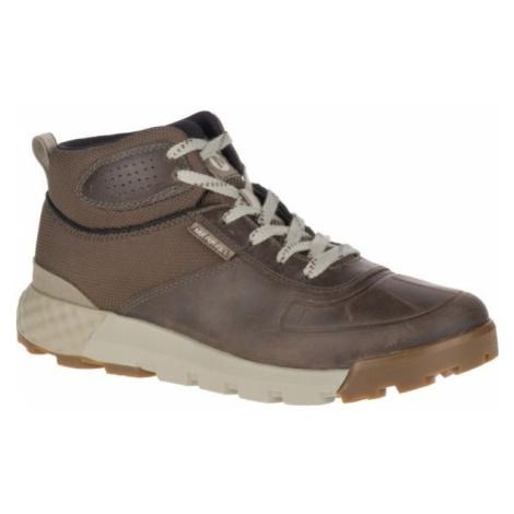 Merrell CONVOY MID POLAR WP AC+ hnědá - Pánské zimní boty