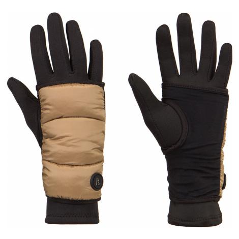 Lyžařské rukavice Bogner TOUCH A hnědá černá