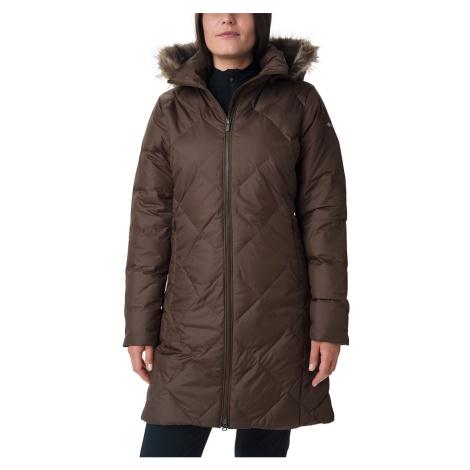 Kabát Columbia Icy Heights™ II id Length Down Jacket W - hnědá