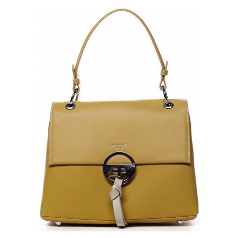 David Jones Dámská kabelka žlutá - Aminisha Žlutá