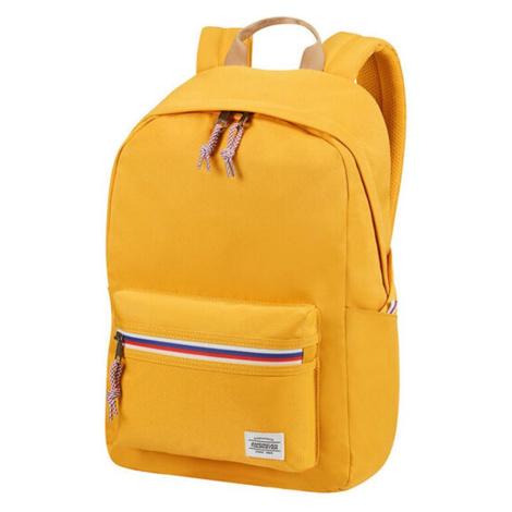 American Tourister Městský batoh Upbeat Zip 19,5 l - žlutá