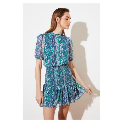 Trendyol Blue Gown Dress
