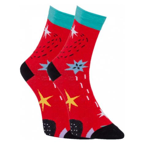 Veselé ponožky Dots Socks hvězdy (DTS-SX-421-W) M