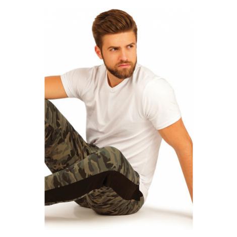 Pánské triko s krátkým rukávem Litex 99595 | bílá