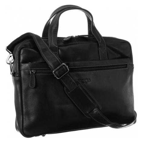 Unisex kožená taška na notebook Badura